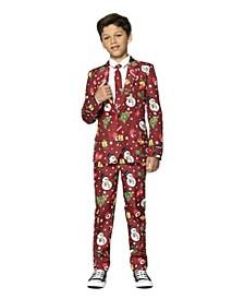 Big Boys Icons Christmas Light Up Suit