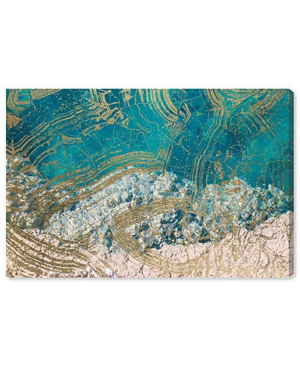 "Oliver Gal Salt Water Canvas Art, 24"" x 16"""