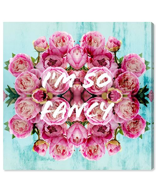 "Oliver Gal So Fancy Canvas Art, 12"" x 12"""