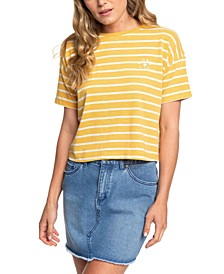Juniors' Striped T-Shirt