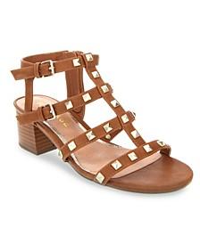 Milty Studded Heeled Sandals