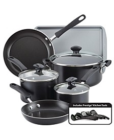 Cookstart Aluminum DiamondMax Nonstick 15-Pc. Cookware Set