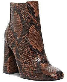 Women's Trix Square-Toe Booties