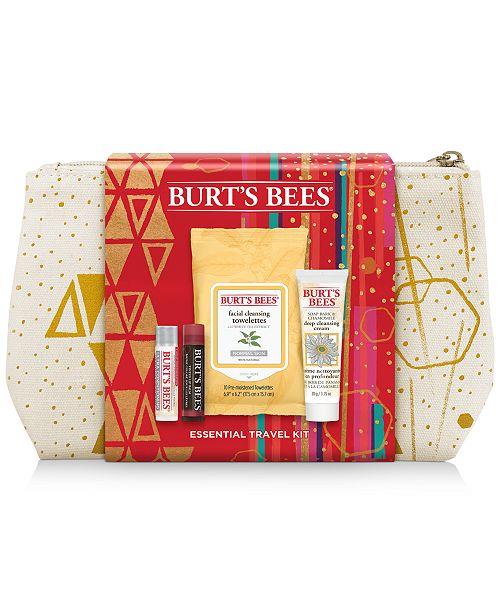 Burt's Bees 5-Pc. Essential Travel Gift Set