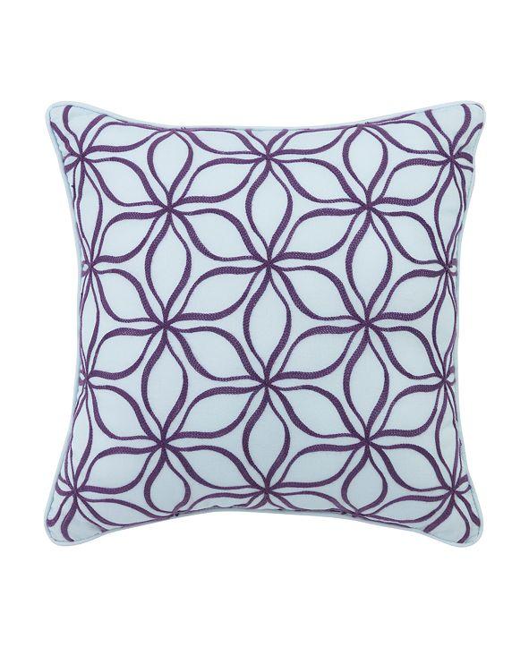 """Croscill Angelina Fashion 16"""" Square Decorative Pillow"""