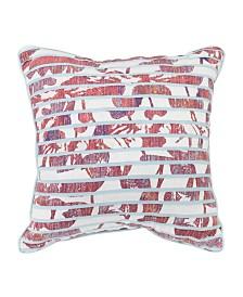 """Croscill Angelina 18"""" Square Decorative Pillow"""
