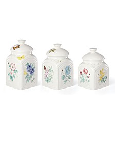 Butterfly Meadow Kitchen 3 Piece Canister Set, Created for Macy's
