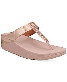 Fino Glitzy Thong Sandals
