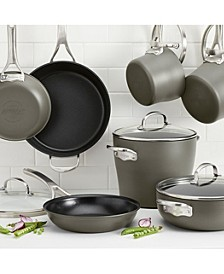 Allure Hard-Anodized Nonstick 12-Pc. Cookware Set