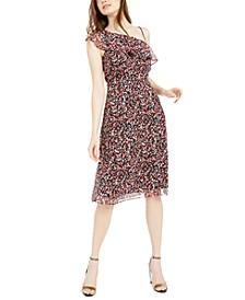 Printed Asymmetric Sheath Dress, Created For Macy's