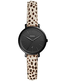Women's Kinsey Spotted Leather Strap Watch 28mm