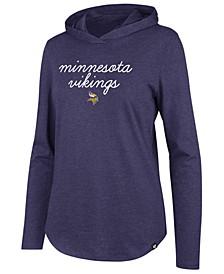 Women's Minnesota Vikings Script PO Hoodie