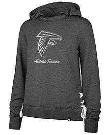 '47 Brand Women's Atlanta Falcons Lace Up Hoodie