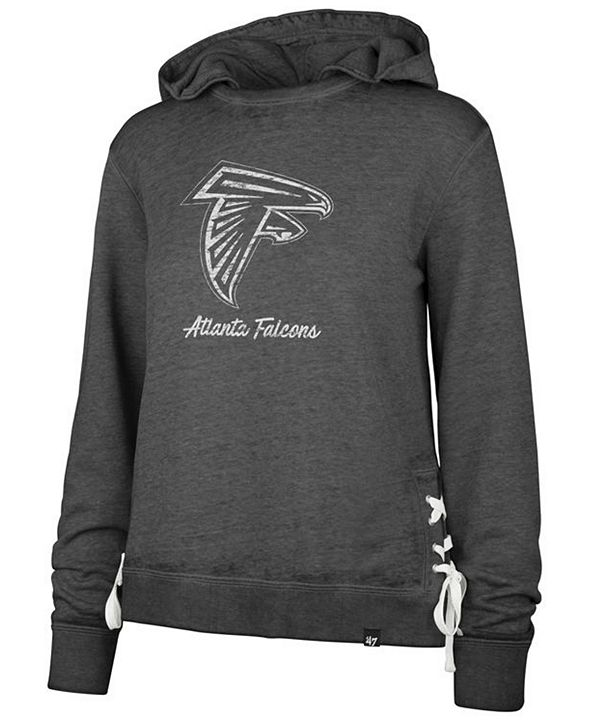 '47 Brand Women's Atlanta Falcons Lace Up Hoodie