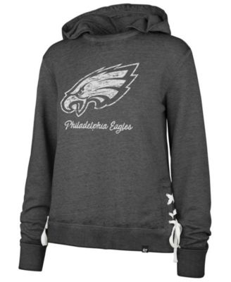 women's eagles hooded sweatshirt