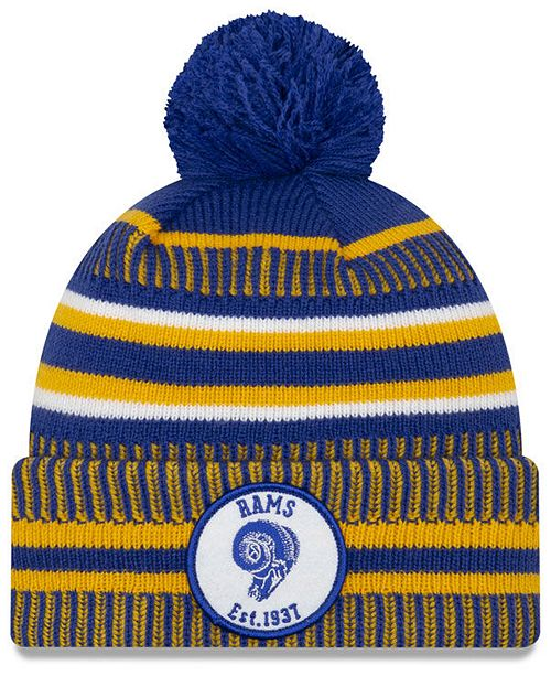 New Era Los Angeles Rams Home Sport Knit Hat