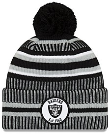 Oakland Raiders Home Sport Knit Hat