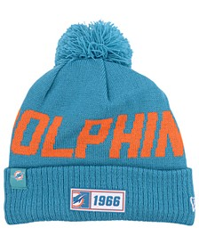 Miami Dolphins Road Sport Knit Hat