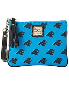 Carolina Panthers Saffiano Stadium Wristlet