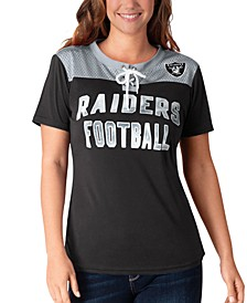 Women's Oakland Raiders Wildcard Jersey T-Shirt