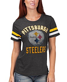 Women's Pittsburgh Steelers Extra Point T-Shirt