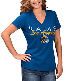 Women's Los Angeles Rams Teamwork T-Shirt