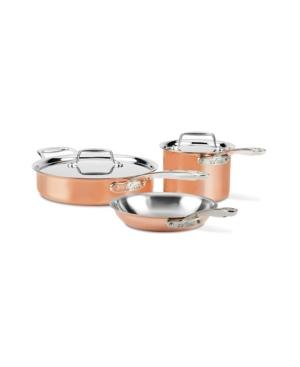 All Clad C4 Copper 5-Pc. Cookware Set