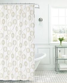 Dandelion Shower Curtain With Lurex