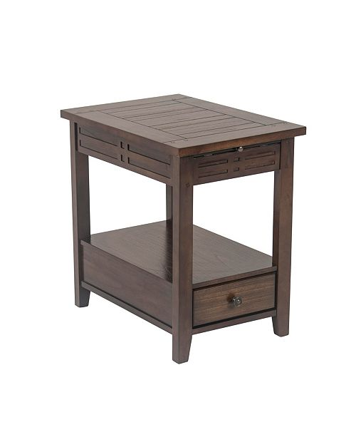 Furniture Cleave Chairside End Table