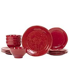 Viva by Fresh 12-Pc. Dinnerware Set, Service for 4