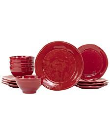 Viva by Vietri Fresh 12-Pc. Dinnerware Set, Service for 4