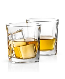 Luna Old Fashioned Whiskey Glasses Set of 2