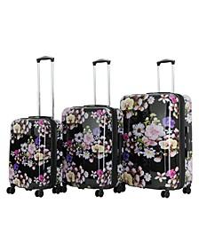 Triforce Eden 3-Piece Spinner Luggage Set