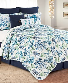 C F Home Water Bay Twin Quilt Set