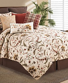 Autumn Bloom Full Queen Quilt Set