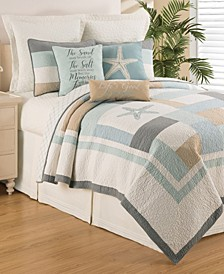 Driftwood Shores Full Queen Quilt Set