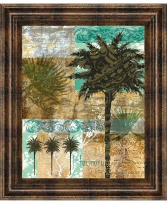 "Palm III by Maeve Fitzsimons Framed Print Wall Art, 22"" x 26"""