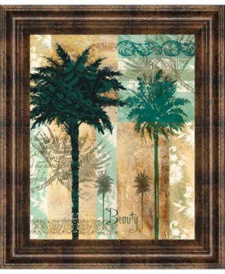 "Palm II by Maeve Fitzsimons Framed Print Wall Art, 22"" x 26"""