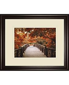 "Footbridge by Jessica Jenney Framed Print Wall Art, 34"" x 40"""