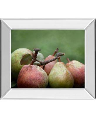"Comice Pear II by Rachel Perry Mirror Framed Print Wall Art, 22"" x 26"""