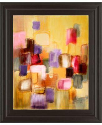 """Sonata II by Lanie Loreth Framed Print Wall Art, 22"""" x 26"""""""