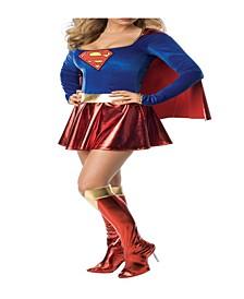 BuySeason Women's Supergirl Deluxe Costume