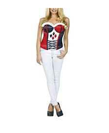 BuySeason Women's Harley Quinn Corset