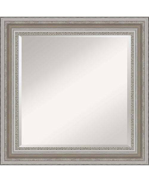 Amanti Art Parlor Silver Tone Framed Bathroom Vanity Wall Mirror 25 5 X 25 50 Reviews All Mirrors Home Decor Macy S
