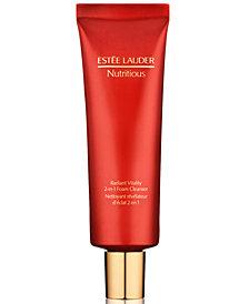 Estée Lauder Nutritious Radiant Vitality 2-in-1 Foam Cleanser, 4.2 oz.