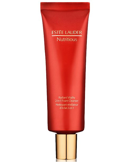 Nutritious Radiant Vitality 2-in-1 Foam Cleanser by Estée Lauder #3