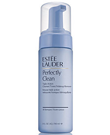 Estée Lauder Perfectly Clean Triple-Action Cleanser/Toner/Makeup Remover, 5 oz.