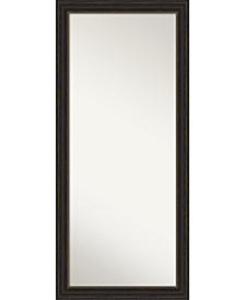 """Accent Framed Floor/Leaner Full Length Mirror, 29"""" x 65"""""""