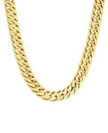 Men's Simple Curb Link Chain Necklace