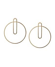 Hoop with Link Earrings